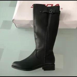 SODA Encina-S Knee Boots Sz 8 Manufctrd Leather